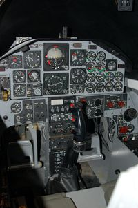 Dover Afb Airport (DOV) - T-38 Cockpit at the Air Mobility Command Museum, Dover AFB, DE - by scotch-canadian