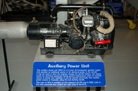 Dover Afb Airport (DOV) - Auxiliary Power Unit at the Air Mobility Command Museum, Dover AFB, DE - by scotch-canadian