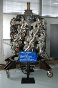 Dover Afb Airport (DOV) - Pratt & Whitney R-4360 Wasp Major Engine at the Air Mobility Command Museum, Dover AFB, DE - by scotch-canadian
