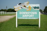 Vineland-downstown Airport (28N) - Sign at Vineland-Downstown Airport, Vineland, NJ - by scotch-canadian