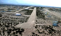 High Mesa Airpark Airport (3AZ8) - Short Final RW 26 - by Dave Johnson