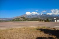 Calvi Sainte-Catherine Airport, Calvi France (LFKC) - The airport is surrounded by the mountains - by Michel Teiten ( www.mablehome.com )