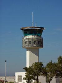 Calvi Sainte-Catherine Airport, Calvi France (LFKC) - Control Tower - by Michel Teiten ( www.mablehome.com )