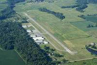 Clinton Field Airport (I66) - On a clear morning.... - by Allen M. Schultheiss