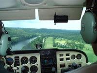 Gastons Airport (3M0) - Final approach to runway 24 - by Megan Heilmann