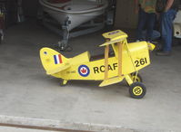 Santa Paula Airport (SZP) - RCAF Pedal Biplane CF-IVO - by Doug Robertson