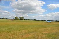 Lashenden/Headcorn Airport, Maidstone, England United Kingdom (EGKH) - An ideal spot for photography - one of the great advantages at Headcorn is the fact that you can get very close to the runway. - by Martin Browne