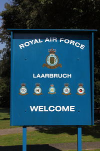 Weeze Airport (formerly Niederrhein Airport) - Logo of Royal Air Force Museum Laarbruch-Weeze, Germany - by Air-Micha