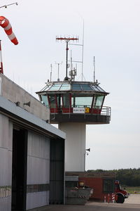 Bonn-Hangelar Airport - Tower of Federal Police at the Bonn-Hangelar Airport, Germany, EDKB/ BNJ - by Air-Micha