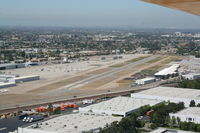 Fullerton Municipal Airport (FUL) - Turning final for RWY 24 - by Nick Taylor Photography