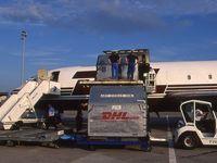 Bordeaux Airport, Merignac Airport France (LFBD) - fret 727 DHL 1995 - by Jean Goubet-FRENCHSKY