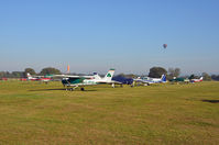Lashenden/Headcorn Airport - ACROSS THE AIRPARK. - by Martin Browne