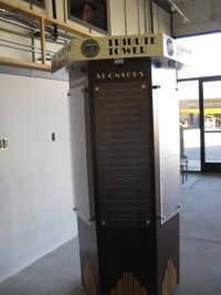 Santa Paula Airport (SZP) - Aviation Museum of Santa Paula Sponsor Tribute Tower. Please consider making a donation. - by Doug Robertson
