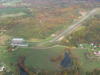 Perry County Airport (I86) - Looking NE on a nice fall day. - by Bob Simmermon