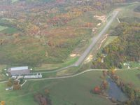 Perry County Airport (I86) - Looking east on a nice fall day. - by Bob Simmermon