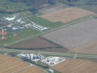 Greensburg Municipal Airport (I34) - Looking SE from 4500' - by Bob Simmermon