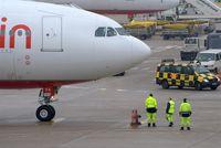 Tegel International Airport (closing in 2011), Berlin Germany (EDDT) - A pic full of attendance...... - by Holger Zengler