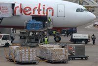 Tegel International Airport (closing in 2011), Berlin Germany (EDDT) - Big bird for small parcels...... - by Holger Zengler