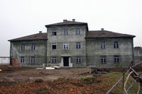 Graz Airport, Graz Austria (LOWG) - These old military buildings at the airport in Graz were built between the two world wars. Now they are sadly demolished - by Robert Schöberl
