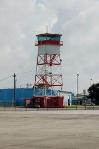 Bartow Municipal Airport (BOW) - Control Tower at Bartow Municipal Airport, Bartow, FL - by scotch-canadian