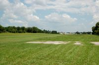 Chalet Suzanne Air Strip Airport (X25) - Approach end of Runway 18 at Chalet Suzanne Air Strip, Lake Wales, NY - by scotch-canadian