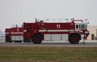 Jacksonville Nas (towers Fld) Airport (NIP) - firetrucks - by Florida Metal