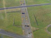 Caernarfon Airport, Caernarfon, Wales United Kingdom (EGCK) - disused runway at Caernarfon - by Chris Hall