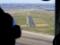Caernarfon Airport, Caernarfon, Wales United Kingdom (EGCK) - on approach for R/W 02 at Caernarfon - by Chris Hall