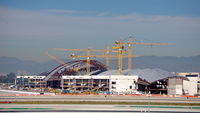 Los Angeles International Airport (LAX) - Tom Bradley Int'l Terminal TBIT undergoing renovations as part of a $11bn project. - by speedbrds
