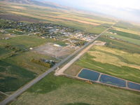 Camas County Airport (U86) - View from West - by Winston Ellis