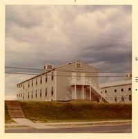 Millington Regional Jetport Airport (NQA) - Barracks at Recruit Training Unit, Naval Air Station - Memphis, Millington, TN - 1967 - by scotch-canadian