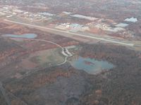 Griffith-merrillville Airport (05C) - looking NW from 2500' - by Bob Simmermon