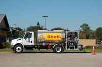 Winter Haven's Gilbert Airport (GIF) - Aviation Fuel Truck at Gilbert Airport, Winter Haven, FL - by scotch-canadian