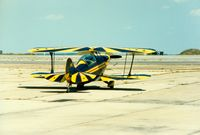 Quonset State Airport (OQU) - Pitts S-2A at Quonset State Airport, North Kingstown, RI - circa 1980's - by scotch-canadian