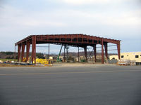 Orange County Airport (OMH) - New Orange skydive building under constructin - by Ronald Barker