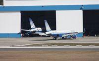 Tampa International Airport (TPA) - United 757s at PEMCO - by Florida Metal