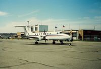 Groton-new London Airport (GON) - Business Express Airlines Beech 1900 at Groton-New London Airport, New London, CT - circa 1980's - by scotch-canadian