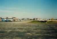 Igor I Sikorsky Memorial Airport (BDR) - Aircraft parked at Bridgeport Municipal Airport, Bridgeport, CT - circa 1980's - by scotch-canadian