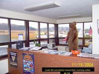 Northumberland County Airport (N79) - Please don't feed the bear. - by w3wcb