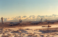 Ted Stevens Anchorage International Airport (ANC) - Anchorage International Airport - March 1989 - by Henk Geerlings