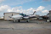 Bartow Municipal Airport (BOW) - Beech B58 Baron at Bartow Municipal Airport, Bartow, FL  - by scotch-canadian