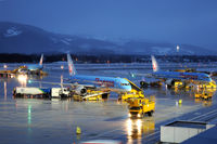 Salzburg Airport, Salzburg Austria (LOWS) - Some Thomson divertions from Innsbruck - by Martin Nimmervoll