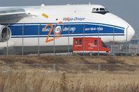 Leipzig/Halle Airport, Leipzig/Halle Germany (EDDP) - Chance encounter.... - by Holger Zengler