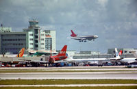 Miami International Airport (MIA) - MIami International 1975 - by Kenny Ganz