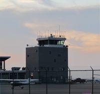 Burke Lakefront Airport (BKL) - Shot at sundown - by aeroplanepics0112