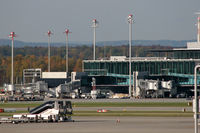 Zurich International Airport, Zurich Switzerland (LSZH) - view to visitors Terrace at Terminal E - by Loetsch Andreas