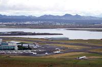 Reykjavík Airport - View from Hallgrímskirkja (church of Hallgrímur). - by Tomas Milosch