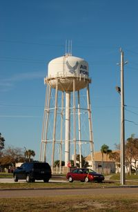 Mac Dill Afb Airport (MCF) - Water Tank at MacDill AFB, Tampa, FL - by scotch-canadian
