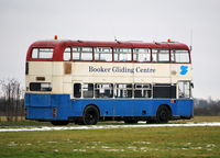 Wycombe Air Park/Booker Airport - Booker Gliding Centre's bus at Wycombe Air Park.