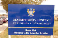 Palmerston North International Airport, Palmerston North New Zealand (NZPM) - Massey University School of Aviation at Palmerston North - by Micha Lueck